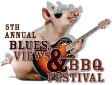 BLUES, VIEWS & BBQ