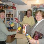 Stocking Food Closet 2011